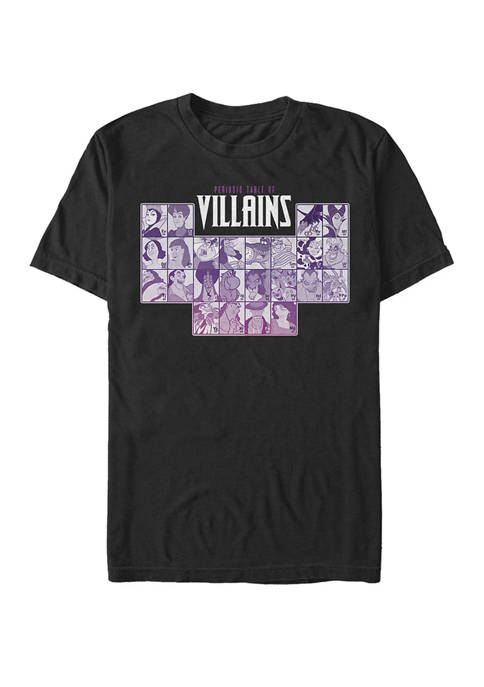 Periodic Table Of Villains Group Shot Short Sleeve T-Shirt