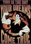 Gaston Dreams Fleece Graphic Hoodie