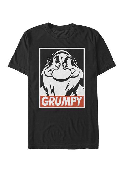 Disney® Grumpy Streetwear Poster Short Sleeve T-Shirt