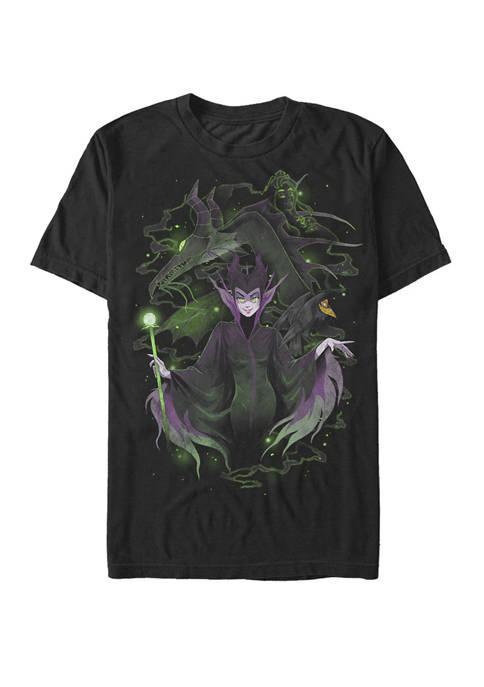 Disney® Maleficent Manga Art Short Sleeve T-Shirt