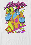 Genie In A Retro Abstract Short Sleeve T-Shirt