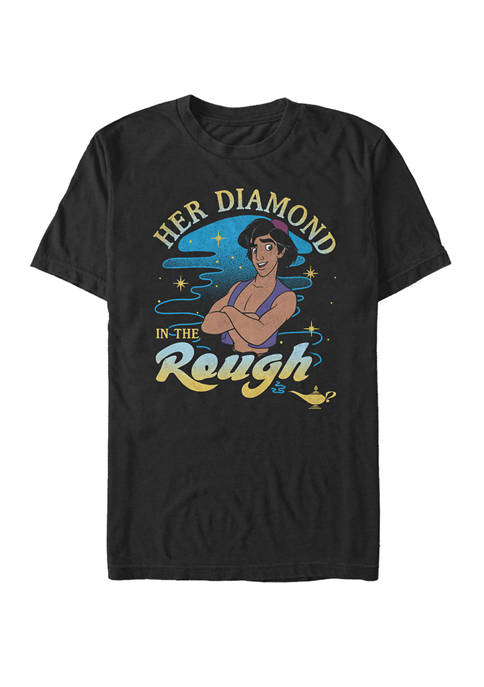 Her Diamond In The Rough Portrait Short Sleeve T-Shirt