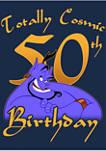 Genie Birthday 50 Graphic Short Sleeve T-Shirt