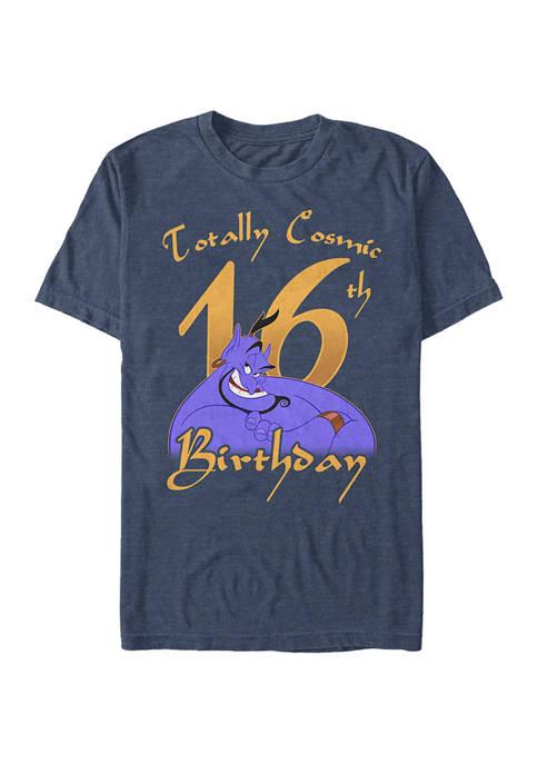 Disney® Genie Birthday 16 Graphic Short Sleeve T-Shirt