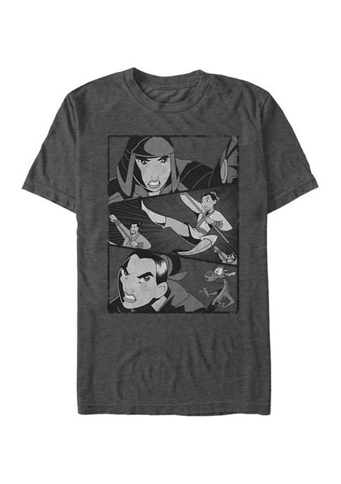 Disney® Mulan Split Short Sleeve T-Shirt