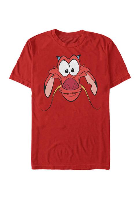 Disney® Mulan Big Face Mushu Short Sleeve T-Shirt