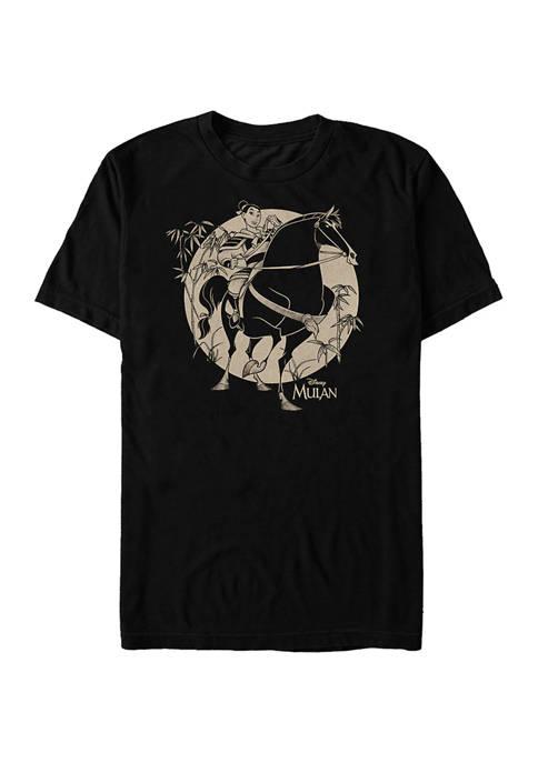 Mulan Bamboo Shoots Short Sleeve T-Shirt