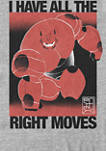 Big Hero Six All The Right Moves Short Sleeve T-Shirt
