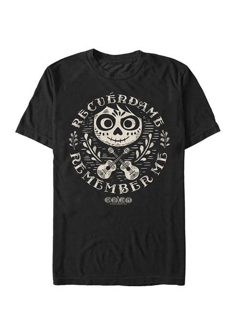 Juniors Circle Remember Graphic T-Shirt