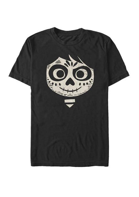 Disney® Pixar™ Coco Miguel Skull Face Short Sleeve