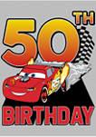 Lightning Birthday 50 Graphic Short Sleeve T-Shirt