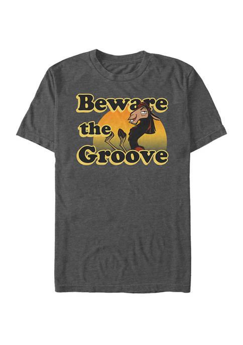 Big & Tall Emperors New Groove Beware The Llama Short Sleeve Graphic T-Shirt