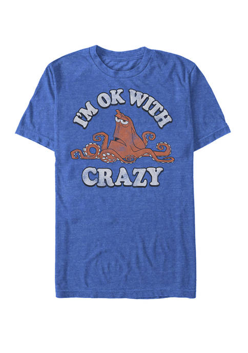 Finding Dory Hank Ok With Crazy Short Sleeve T-Shirt