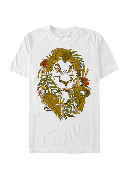 Disney® Camouflaged Scar Short Sleeve T-Shirt