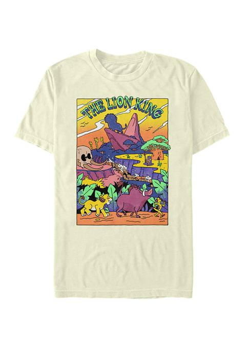 Disney® Neon Pop Art Short Sleeve T-Shirt
