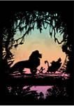 Big & Tall Lion King Eastern Trail Graphic Short Sleeve T-Shirt
