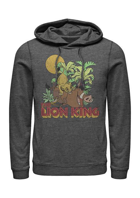 Lion King Jungle Play Graphic Fleece Hoodie