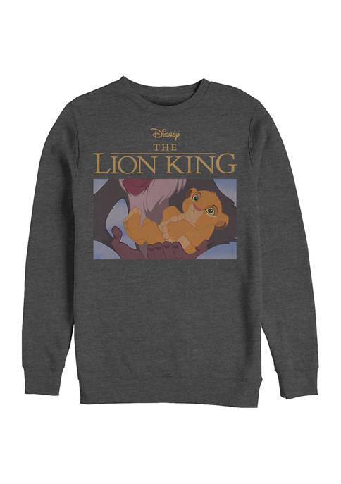 Lion King Screengrab Crew Fleece Graphic Sweatshirt