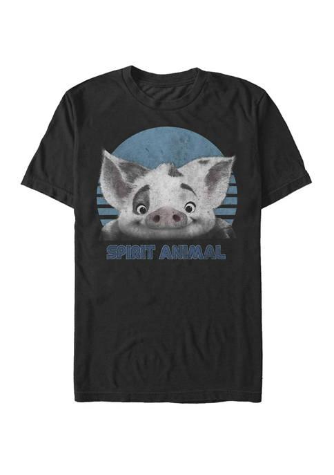 Disney® Moana Pua Spirit Animal Short Sleeve T-Shirt
