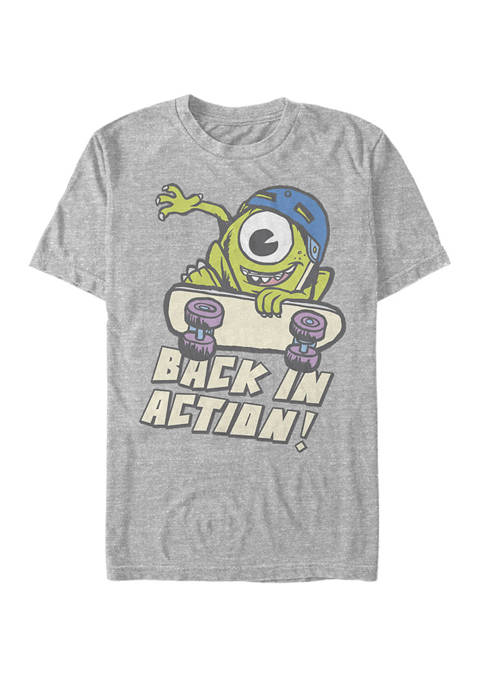 Monsters University Back In Action Short Sleeve T-Shirt