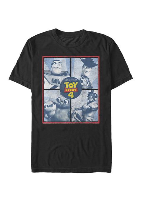Toy Story 4 Toy Boxes Short Sleeve T-Shirt