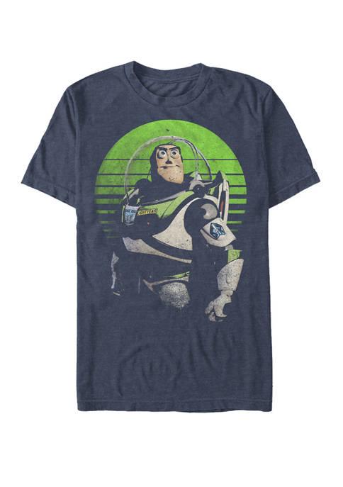 Toy Story Buzz Sight On Stars Short Sleeve T-Shirt