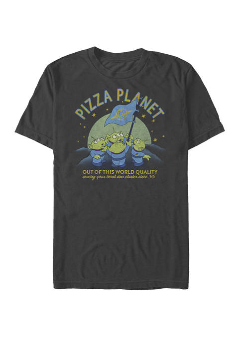 Toy Story Aliens Planet Flag Short Sleeve T-Shirt