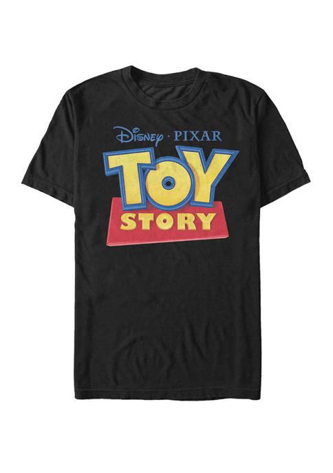 Big & Tall Toy Story Classic Logo Short Sleeve T-Shirt