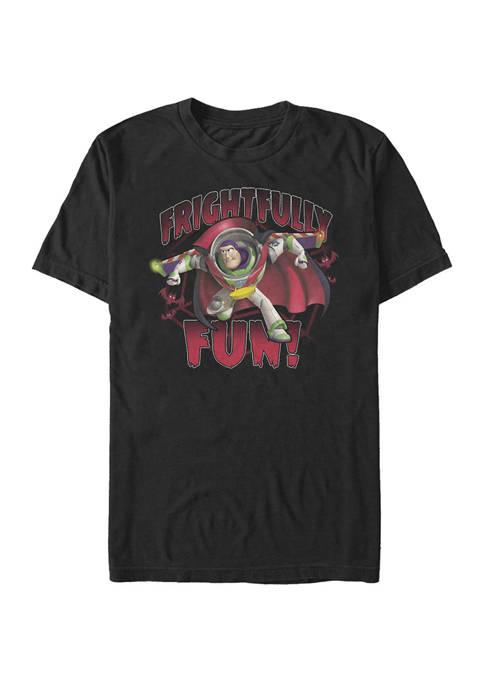Big & Tall Toy Story Buzz Lightyear Frightfully Fun Short Sleeve T-Shirt