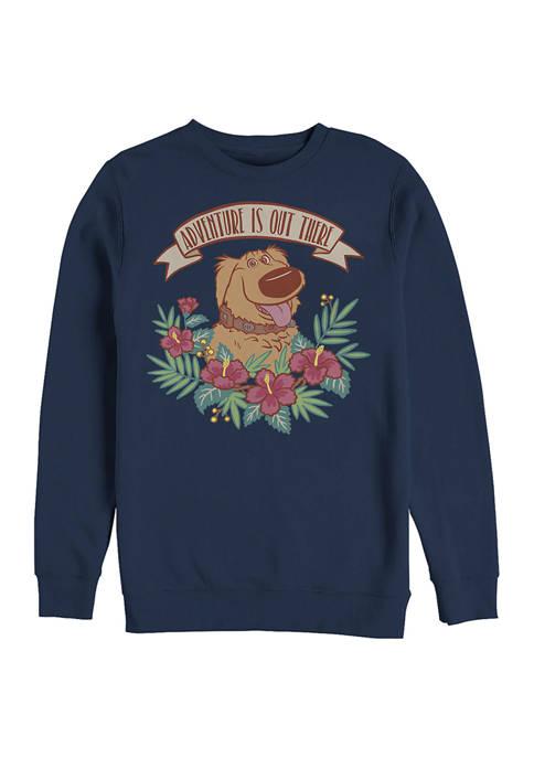 Up Goodest Boy Crew Fleece Graphic Sweatshirt
