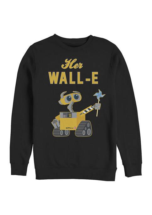 Disney® Pixar™ Her Wall-E Crew Fleece Graphic Sweatshirt