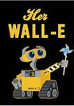 Her Wall-E Graphic Fleece Hoodie