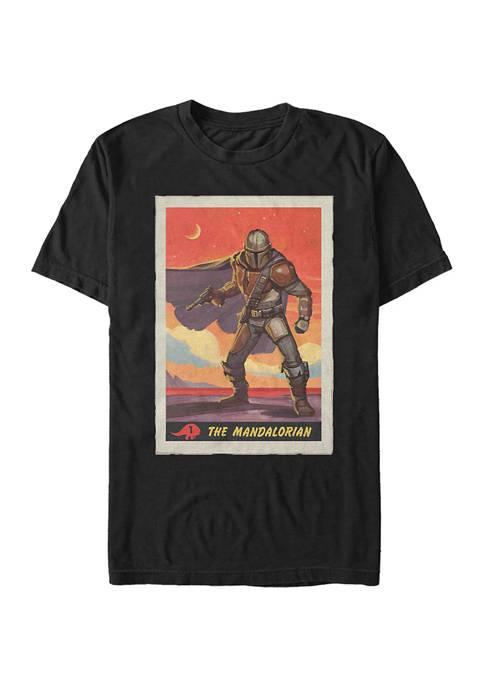 Star Wars The Mandalorian Poster T-Shirt