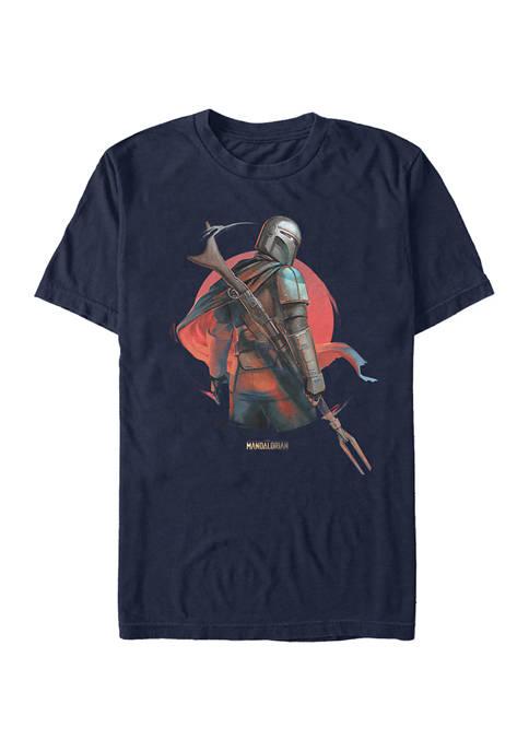 Mandalorian Sunrise Graphic T-Shirt