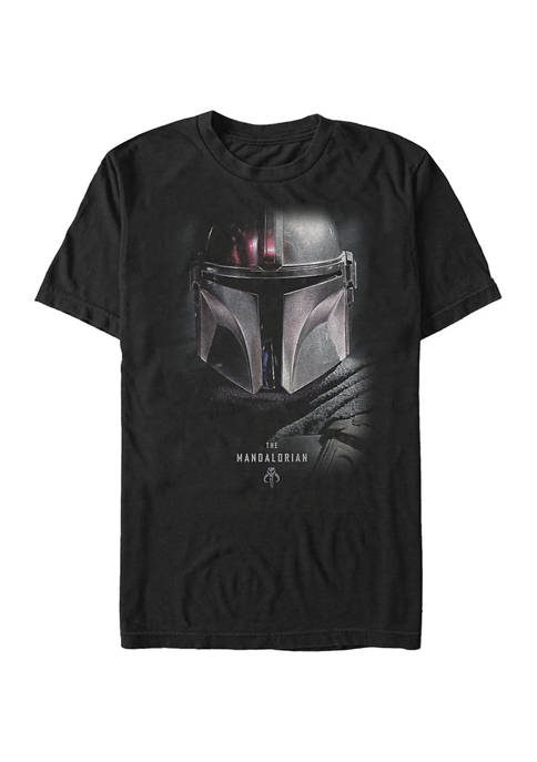 Big & Tall Star Wars The Mandalorian Hero Shot Graphic Short Sleeve T-Shirt