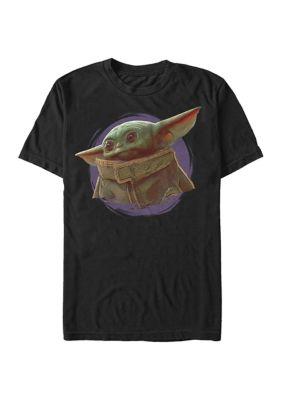 Mens Star Wars The Mandalorian Orange Ball T-Shirt