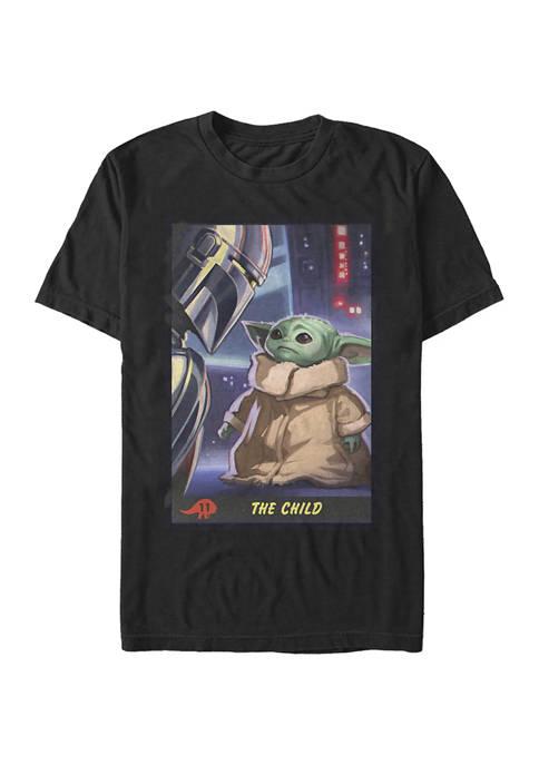Star Wars The Mandalorian Little Trading Card T-Shirt