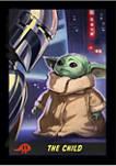 Big & Tall Star Wars® The Mandalorian Little Trading Card Graphic Short Sleeve T-Shirt