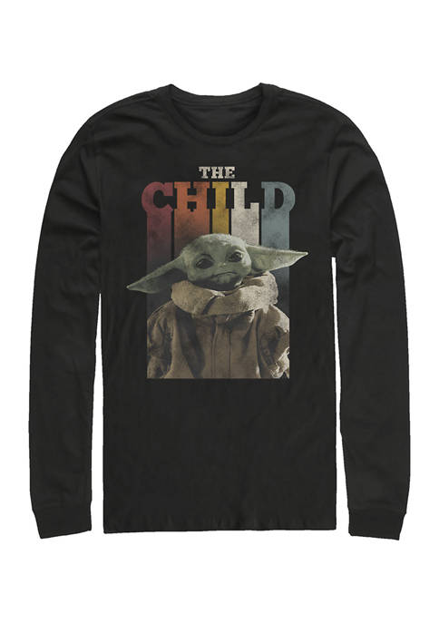 The Child Long Sleeve Crew Graphic T-Shirt