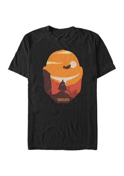 Dark Saber Poster Short Sleeve Graphic T-Shirt