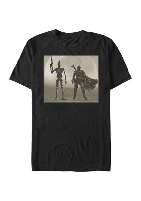 Mando Duo Short Sleeve Graphic T-Shirt