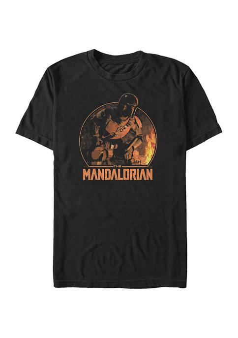 Camping Mando Short Sleeve Graphic T-Shirt