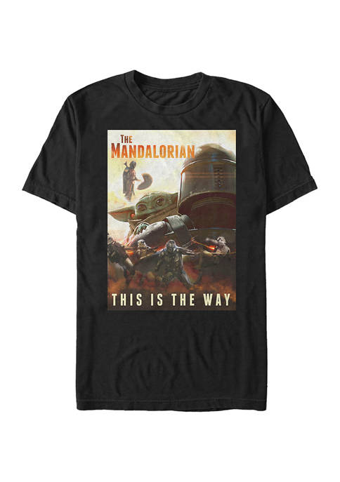 The Way Poster Short Sleeve Graphic T-Shirt