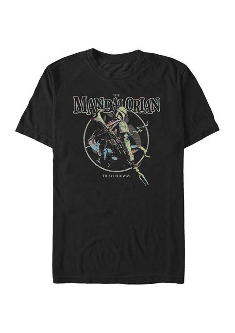 Pastel Pop Short Sleeve Graphic T-Shirt