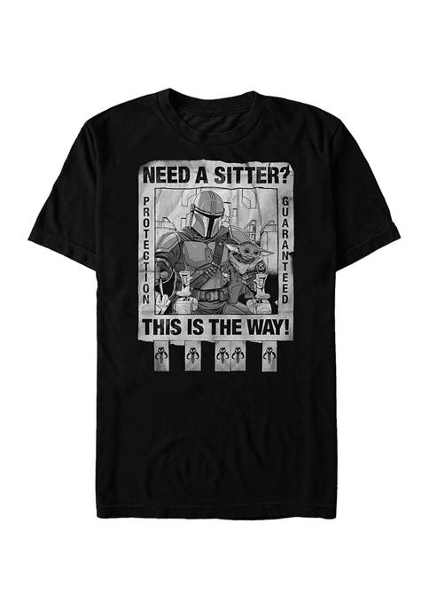 Protection Guaranteed Short Sleeve Graphic T-Shirt