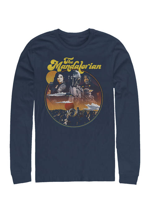Razor Crew Long Sleeve Crew Graphic T-Shirt
