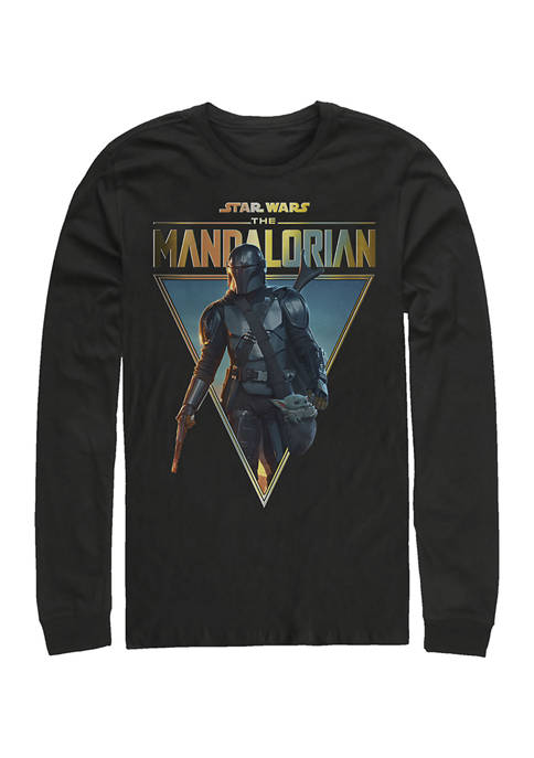 S02 Poster Long Sleeve Crew Graphic T-Shirt