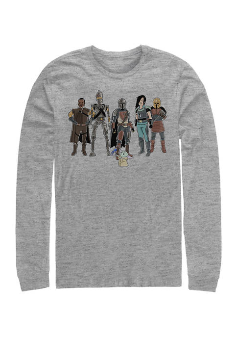 The Child and Friends 2 Long Sleeve Crew Graphic T-Shirt