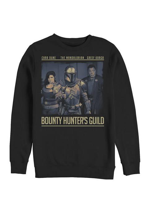 Star Wars The Mandalorian Guild Crew Fleece Graphic  Sweatshirt