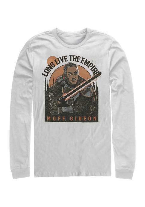 Long Live The Empire Long Sleeve Crew Graphic T-Shirt